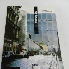 Libri di seconda mano: EL CROQUIS 88 89. HACIA EL FINAL DEL S. XX WORLDS REVISTA ARQUITECTURA Y DISEÑO MADRID 1998. Lote 233563585