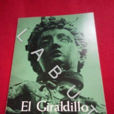 Livros em segunda mão: EL GIRALDILLO SEVILLA CATEDRAL ARQUITECTURA 1981 U24. Lote 234097375