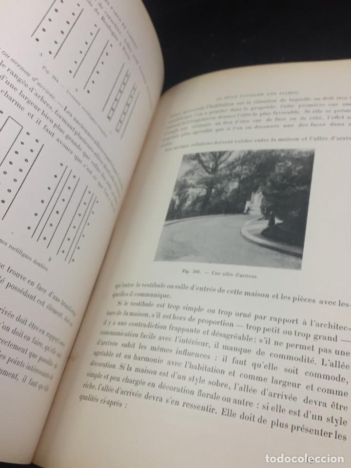 Libros de segunda mano: Les Parcs et Jardins au commencement du XXè siècle. Jules VACHEROT. Urbanismo arquitectura 1908 - Foto 4 - 234154795