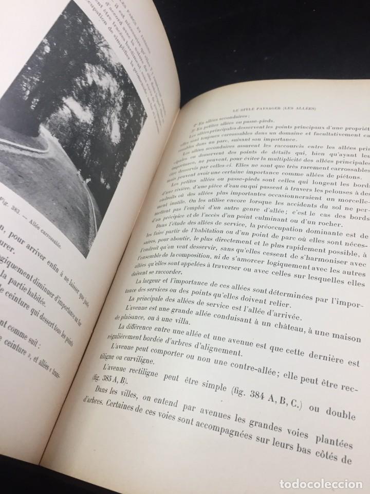 Libros de segunda mano: Les Parcs et Jardins au commencement du XXè siècle. Jules VACHEROT. Urbanismo arquitectura 1908 - Foto 5 - 234154795