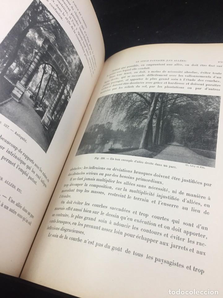 Libros de segunda mano: Les Parcs et Jardins au commencement du XXè siècle. Jules VACHEROT. Urbanismo arquitectura 1908 - Foto 6 - 234154795