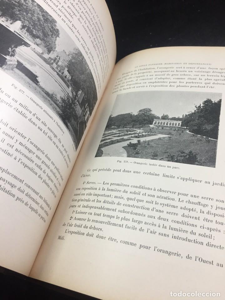 Libros de segunda mano: Les Parcs et Jardins au commencement du XXè siècle. Jules VACHEROT. Urbanismo arquitectura 1908 - Foto 8 - 234154795