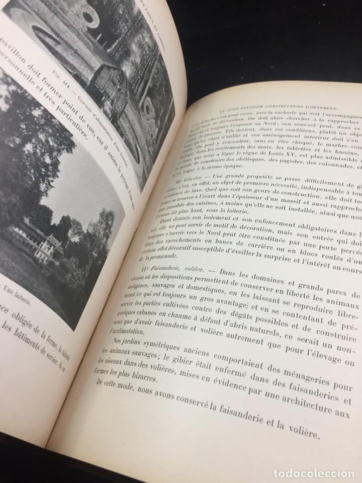 Libros de segunda mano: Les Parcs et Jardins au commencement du XXè siècle. Jules VACHEROT. Urbanismo arquitectura 1908 - Foto 9 - 234154795