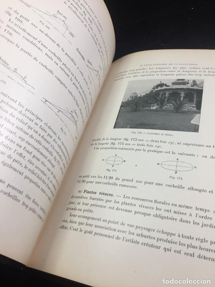 Libros de segunda mano: Les Parcs et Jardins au commencement du XXè siècle. Jules VACHEROT. Urbanismo arquitectura 1908 - Foto 12 - 234154795