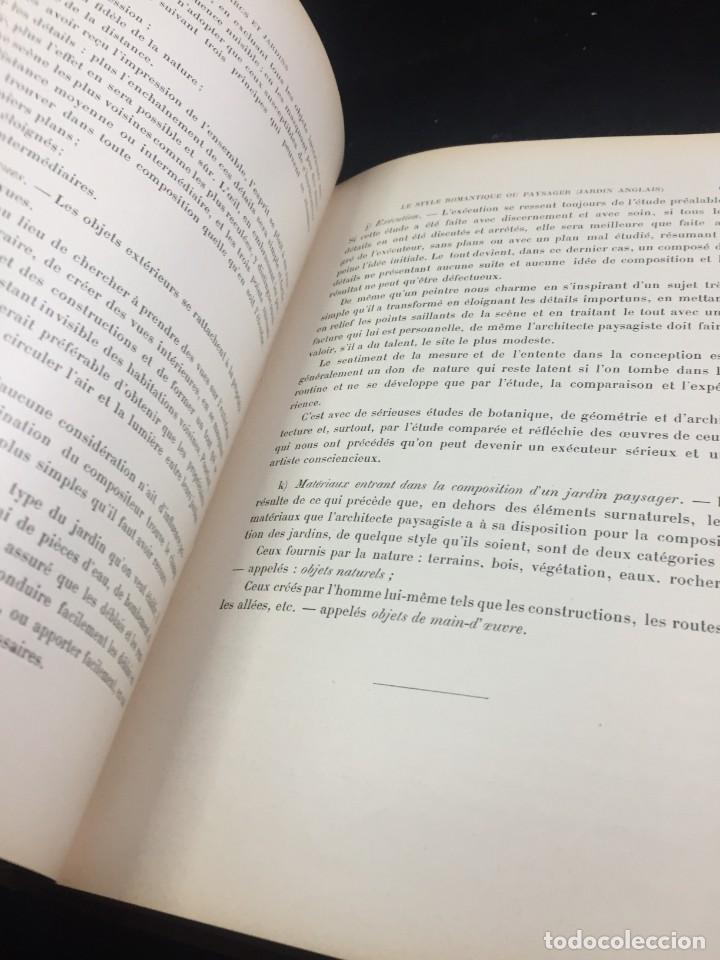 Libros de segunda mano: Les Parcs et Jardins au commencement du XXè siècle. Jules VACHEROT. Urbanismo arquitectura 1908 - Foto 17 - 234154795