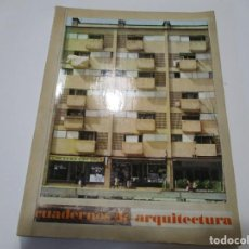 Libros de segunda mano: VV.AA CUADERNOS DE ARQUITECTURA(VARIAS REVISTAS) W5129. Lote 234474735