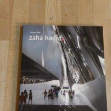 Libros de segunda mano: ZAHA HADIDI - ANTONIO RUBIO - COLECCIÓN ARQUITECTOS PRITZKER. Lote 235051720