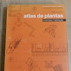 Libros de segunda mano: ATLAS DE PLANTAS: VIVIENDAS - EDICIÓN REVISADA GUSTAVO GILI, 2000 - ESPAÑOL PORTUGUES. Lote 235057215