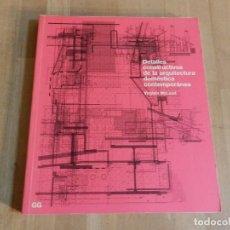 Libros de segunda mano: DETALLES CONSTRUCTIVOS DE LA ARQUITECTURA DOMÉSTICA CONTEMPORÁNEA VIRGINIA MCLEOD G GILI MUY DIFICIL. Lote 235057565