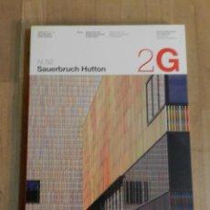 Libros de segunda mano: 2G N. 52 SAUERBRUCH HUTTON 2010 – CASTELLANO INGLÉS. Lote 235058165