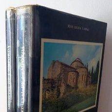 Libros de segunda mano: L´ARQUITECTURA MEDIEVAL DE L´EMPORDÁ TOMO I Y II JOAN BADIA HOMS. Lote 235320425