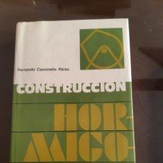 Libros de segunda mano: ARQUITECTURA INGENIERÍA CONSTRUCCIÓN HORMIGONERÍA FERNANDO CASSINELLO PÉREZ. Lote 235439925