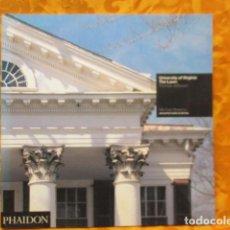 Libros de segunda mano: UNIVERSITY OF VIRGINIA THE LAWN-THOMAS JEFFERSON - MICHAEL BRAWNW - COMO NUEVO.. Lote 236225235