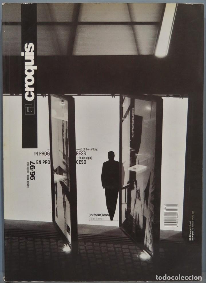 EL CROQUIS. EN PROCESO. FIN DE SIGLO. ARQUITECTURA ESPAÑOLA. 96/97 (Libros de Segunda Mano - Bellas artes, ocio y coleccionismo - Arquitectura)