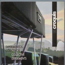 Libros de segunda mano: EL CROQUIS. EXPERIMENTOS COLECTIVOS. 149. Lote 236819655