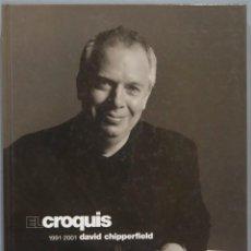 Libros de segunda mano: EL CROQUIS. DAVID CHIPPERFIELD 1991-1997. 87. Lote 236819845