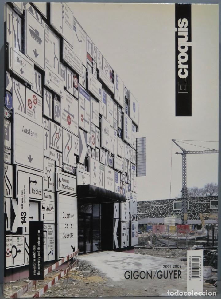 EL CROQUIS. GIGON/GUYER. 143 (Libros de Segunda Mano - Bellas artes, ocio y coleccionismo - Arquitectura)