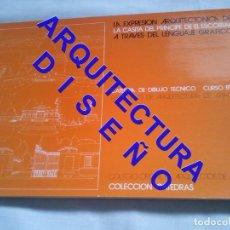 Libros de segunda mano: LA EXPRESION ARQUITECTONICA DE LA CASITA DEL PRINCIPE DE EL ESCORIAL ARQUITECTURA AQ10. Lote 237334110