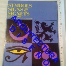 Libros de segunda mano: SYMBOLS SIGNS & SIGNETS DISEÑO ERNST LEHNER ARQUITECTURA AQ10. Lote 237336625