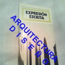 Livros em segunda mão: EXPRESION ESCRITA O ESTRATEGIAS PARA LA ESCRITURA JAVIER GONZALEZ DARDER ARQUITECTURA AQ12. Lote 237686665