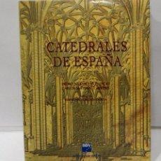 Libros de segunda mano: CATEDRALES DE ESPAÑA - PEDRO NAVASCUES PALACIO, CARLOS SARTHOU CARRERES (ESPASA-CALPÉ PARA BBV BBVA). Lote 237732890