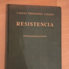 Libros de segunda mano: RESISTENCIA TEORÍA GENERAL DE ESTRUCTURAS CARLOS FERNÁNDEZ CASADO ED. DOSSAT 1950 LIBRO ARQUITECTURA. Lote 239511005