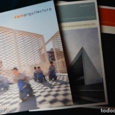 Libros de segunda mano: REVISTAS DE ARQUITECTURA. Lote 239903960