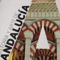 Libros de segunda mano: HISTORIA Y ARTE DE ANDALUCÍA. JOSÉ CALVO POYATO. ART DUOMO 2016. Lote 240132835