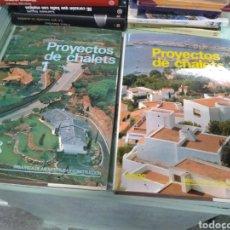 Libros de segunda mano: PROYECTOS DE CHALETS. 1 Y 2. CEAC. Lote 241065670
