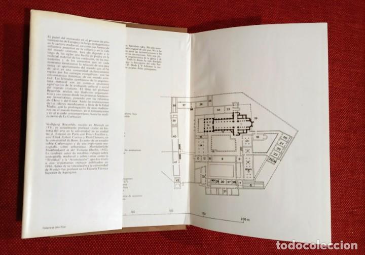 Libros de segunda mano: ARQUITECTURA MONACAL OCCIDENTE - WOLFGANG BRAUNFELS - BARRAL 1975 - Foto 3 - 242865875