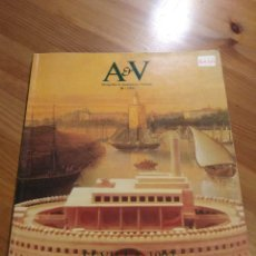 Libros de segunda mano: AV MONOGRAFÍAS 20 SEVILLA 1992 ( EXPO 92 )- REVISTA ARQUITECTURA DESCATALOGADA. Lote 243262345