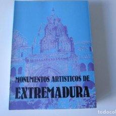 Libros de segunda mano: MONUMENTOS ARTÍSTICOS DE EXTREMADURA. EDITORA REGIONAL DE EXTREMADURA. MÉRIDA 1988. Lote 243544745
