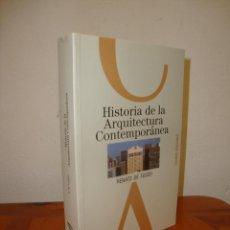 Libros de segunda mano: HISTORIA DE LA ARQUITECTURA CONTEMPORÁNEA - RENATO DE FUSCO - CELESTE, MUY BUEN ESTADO. Lote 245133205