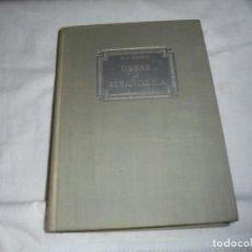 Libros de segunda mano: OBRAS DE ALBAÑILERIA.GUY BRIGAUX.EDITORIAL REVERTE BARCELONA 1953. Lote 246143015