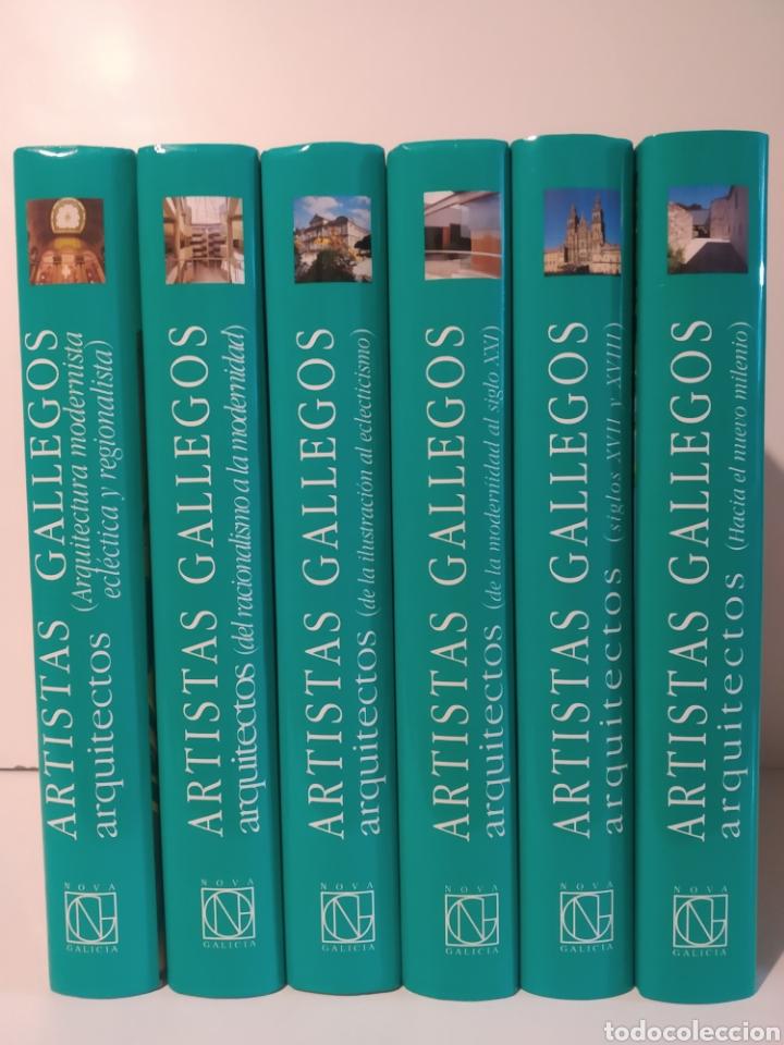 6 TOMOS. NOVA GALICIA. ARTISTAS GALLEGOS. ARQUITÉCTOS. CASTELLANO (Libros de Segunda Mano - Bellas artes, ocio y coleccionismo - Arquitectura)