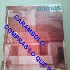 Livres d'occasion: DOMUS 384 ARQUITECTURA Y DISEÑO REVISTA ITALIANA NOVIEMBRE 1961 AQ15. Lote 247129785