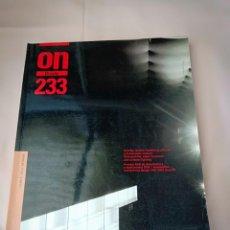 Libros de segunda mano: ON DISEÑO Nº233. Lote 251352935