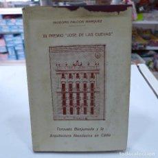 Libros de segunda mano: TORCUATO BENJUMEDA Y LA ARQUITECTURA NEOCLASICA EN CADIZ - TEODORO FALCON MARQUEZ. Lote 253585470