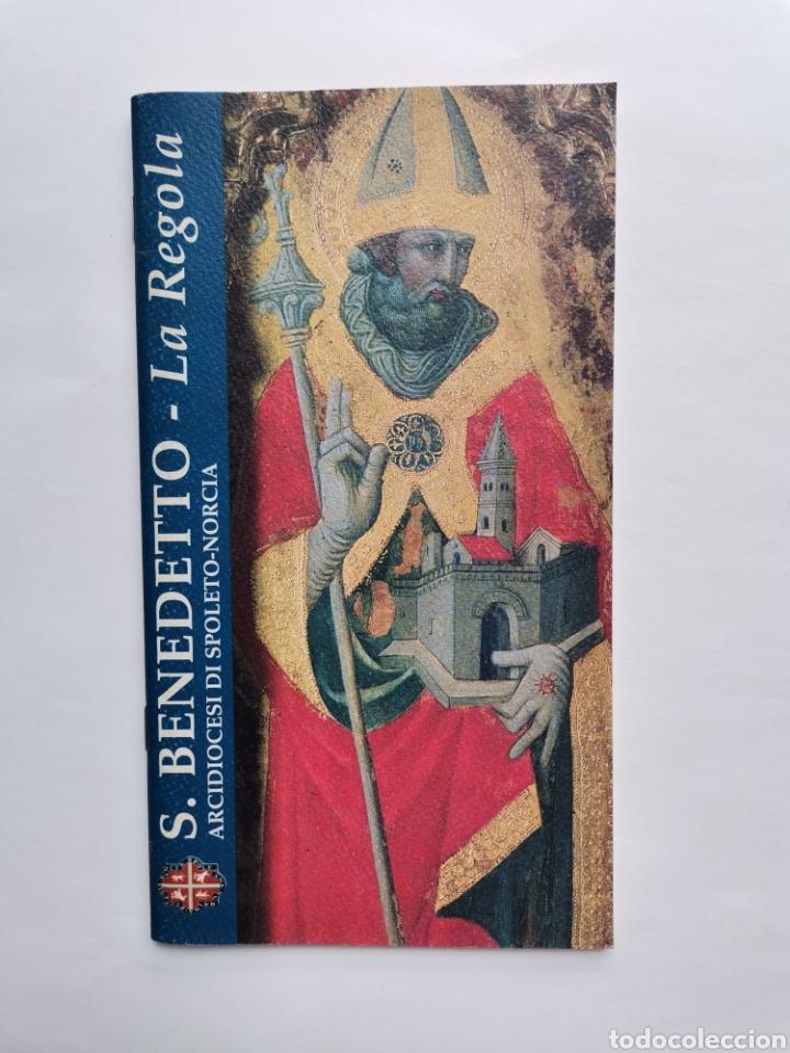 S. BENEDETTO LA REGOLA ARCIDIOCESI DI SPOLETO-NORCIA LIBRO ITALIANO (Libros de Segunda Mano - Bellas artes, ocio y coleccionismo - Arquitectura)