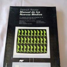 Libros de segunda mano: MANUAL DE LOS NUEVOS MEDIOS. Lote 254917970