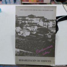 Libros de segunda mano: CONCRECIONES SOBRE REHABILITACION DE EDIFICIOS. Lote 255021290