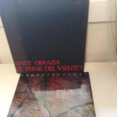 Libros de segunda mano: ARQUITECTURAS EL PEINE DEL VIENTO EDUARDO CHILLIDA LUIS PEÑA GANCHEGUI. Lote 255974235