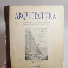 Libros de segunda mano: ARQUITECTURA REVISTA MENSUAL ORGANO OFICIAL COLEGIO NACIONAL ARQUITECTOS LA HABANA CUBA 1939-Nº 76. Lote 256133590