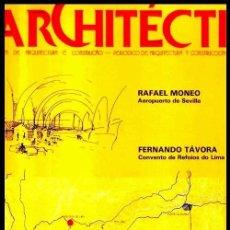 Libros de segunda mano: ARQUITECTURA. CONSTRUCCION. AEROPUERTO DE SEVILLA. RAFAEL MONEO. PLANOS. DESPLEGABLES. INSTALACIONES. Lote 257735975
