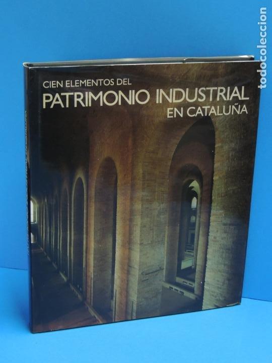 CIEN ELEMENTOS DEL PATRIMONIO INDUSTRIAL EN CATALUÑA. - VV.AA. (Libros de Segunda Mano - Bellas artes, ocio y coleccionismo - Arquitectura)