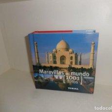 Libros de segunda mano: MARAVILLAS DEL MUNDO 1001 FOTOS - EDITORIAL TIKAL - DISPONGO DE MAS LIBROS. Lote 261784535