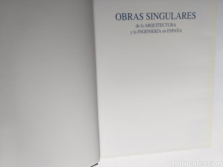 Libros de segunda mano: Obras singulares de la arquitectura y la ingeniería en España FCC - Foto 9 - 262271625