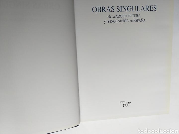 Libros de segunda mano: Obras singulares de la arquitectura y la ingeniería en España FCC - Foto 10 - 262271625
