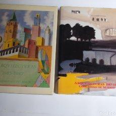 Libros de segunda mano: ARQUITECTURAS COMUNIDAD DE MADRID 2 TOMOS 1983 1987 Y 1987 1990. Lote 262775125