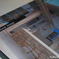 Libros de segunda mano: LIBRO-NEW HABITATS IN CONVERTED. (ARQUIETCTURA). COMO NUEVO.. Lote 263057870